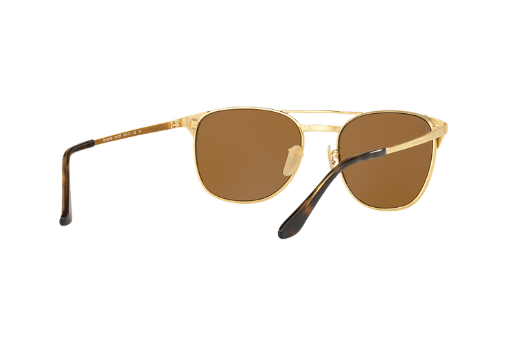 Ray Ban Signet Gold lente Brown cod. RB3429M 001/33 55 - Image 7