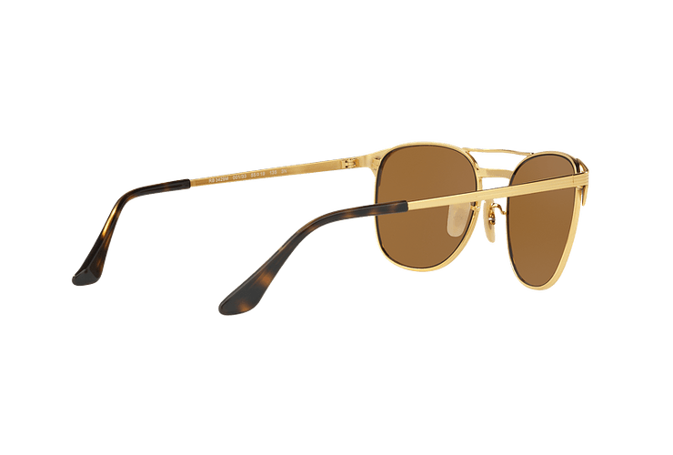 Ray Ban Signet Gold lente Brown cod. RB3429M 001/33 55 - Image 8
