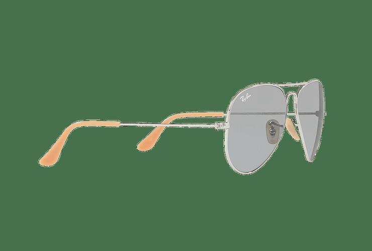 Ray Ban Aviador Silver lente Blue Fotocromáticos cod. RB3025 9065I5 58 - Image 10