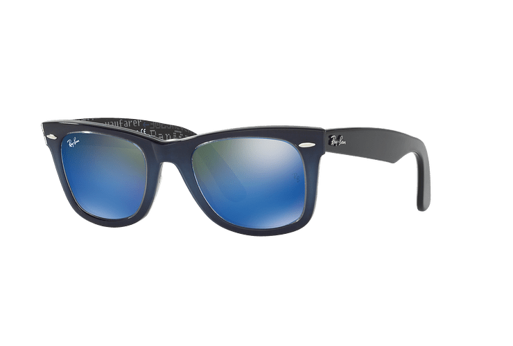 Ray Ban Wayfarer Blue lente Blue Mirror cod. RB2140 120368 50 - Image 1
