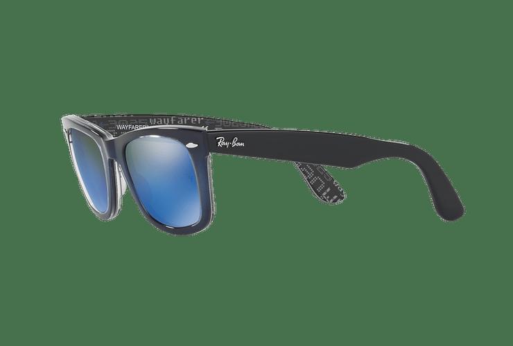 Ray-Ban Wayfarer Blue lente Blue Mirror cod. RB2140 120368 50 - Image 2
