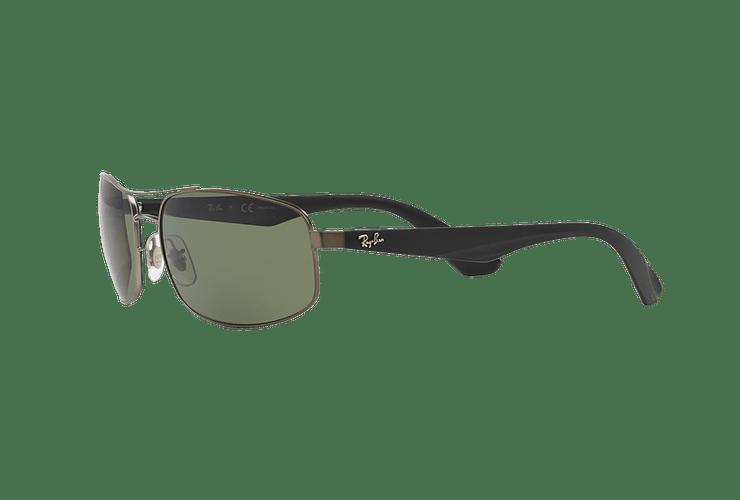 Ray-Ban Aerodinámico RB3527 Matte Gunmetal lente Dark Green Polarized cod. RB3527 029/9A 61 - Image 2