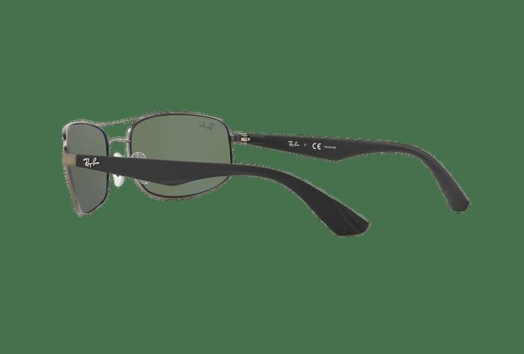 Ray-Ban Aerodinámico RB3527 Matte Gunmetal lente Dark Green Polarized cod. RB3527 029/9A 61 - Image 4