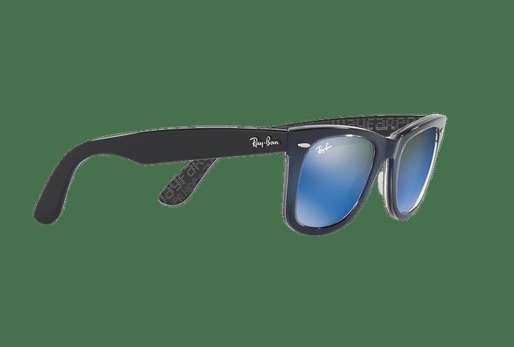 Ray-Ban Wayfarer Blue lente Blue Mirror cod. RB2140 120368 50 - Image 10