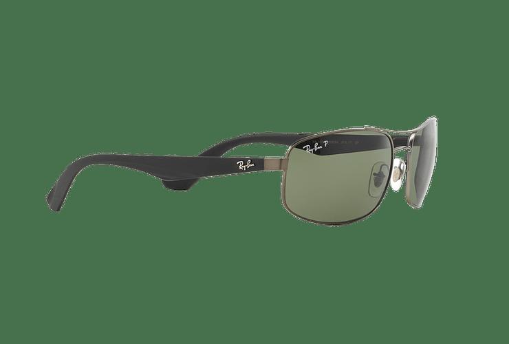 Ray Ban Aerodinámico RB3527 Matte Gunmetal lente Dark Green Polarized cod. RB3527 029/9A 61 - Image 10