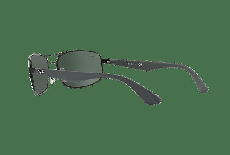 Ray Ban Aerodinámico RB3527 Matte Black lente Green / Grey cod. RB3527 006/71 61 - Image 4