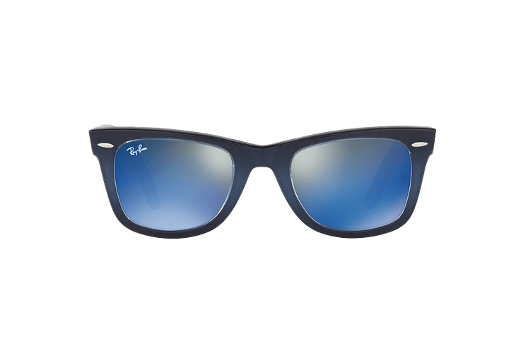 Ray-Ban Wayfarer Blue lente Blue Mirror cod. RB2140 120368 50 - Image 12