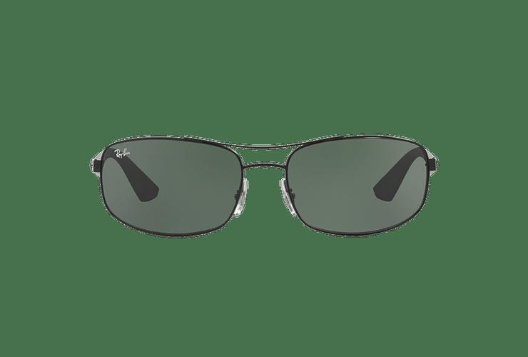 Ray Ban Aerodinámico RB3527 Matte Black lente Green / Grey cod. RB3527 006/71 61 - Image 12
