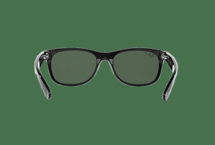 Ray Ban New Wayfarer Black lente Crystal Green Polarized cod. RB2132 901/58 55 - Image 6