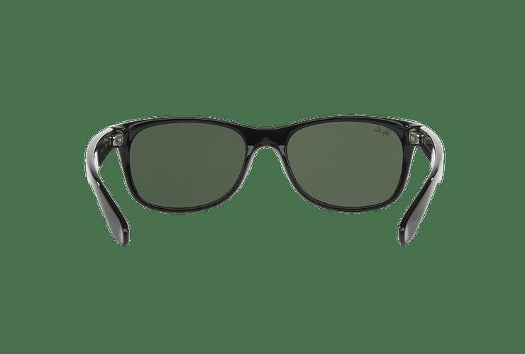 Ray Ban New Wayfarer Black lente Crystal Green cod. RB2132 901L 55 - Image 6