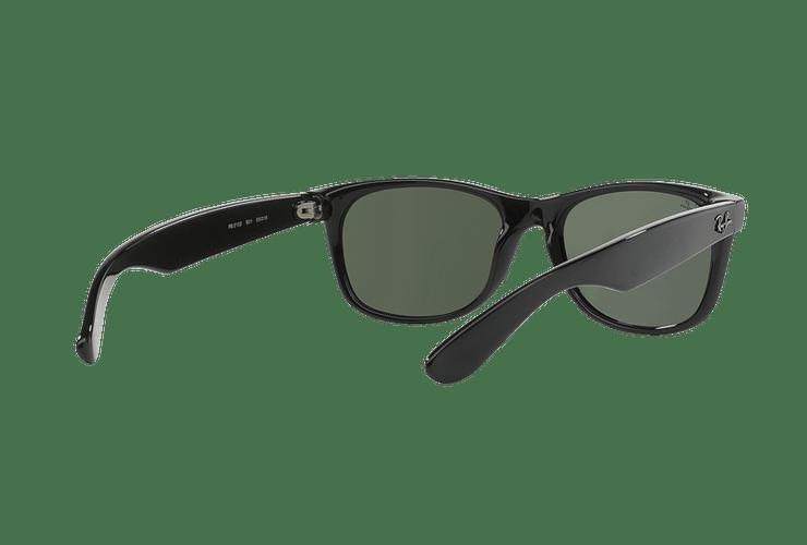 Ray-Ban New Wayfarer Black lente Crystal Green cod. RB2132 901L 55 - Image 7