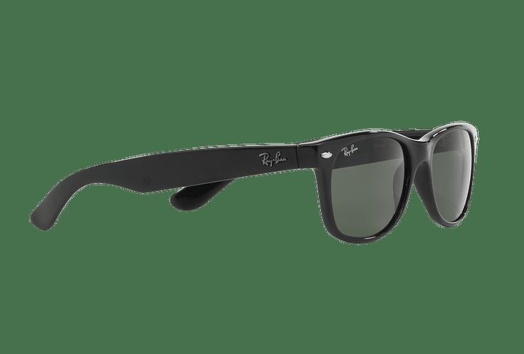 Ray Ban New Wayfarer Black lente Crystal Green cod. RB2132 901L 55 - Image 10