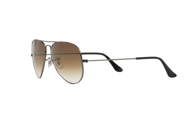 Ray Ban Aviador Gunmetal lente Crystal Brown Gradient cod. RB3025 004/51 62 - Image 2