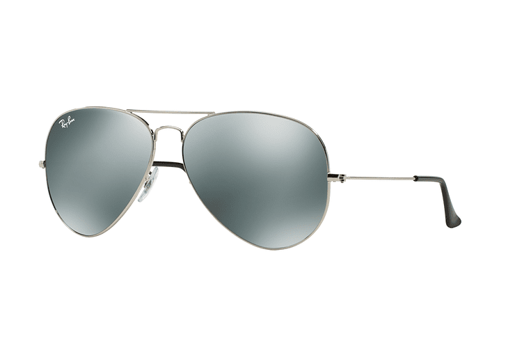 Ray Ban Aviador Silver lente Crystal Grey Mirror cod. RB3025 003/40 62 - Image 1