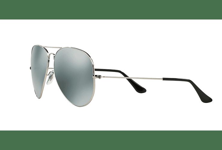 Ray Ban Aviador Silver lente Crystal Grey Mirror cod. RB3025 003/40 62 - Image 2