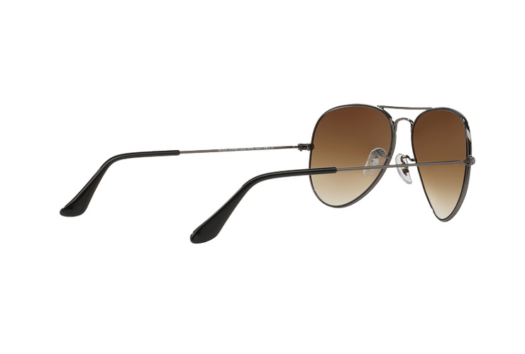 Ray Ban Aviador Gunmetal lente Crystal Brown Gradient cod. RB3025 004/51 62 - Image 8