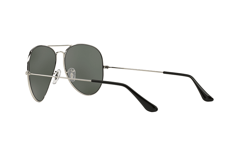 Ray Ban Aviador Silver lente Crystal Grey Mirror cod. RB3025 003/40 62 - Image 4