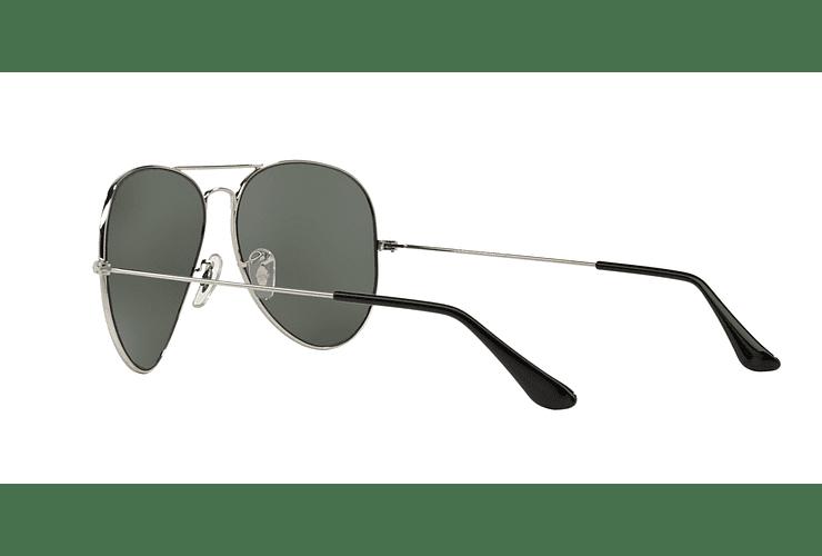 Ray Ban Aviador Silver lente Crystal Grey Mirror cod. RB3025 003/40 62 - Image 4
