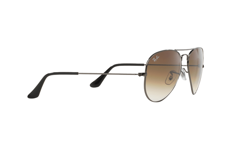 Ray Ban Aviador Gunmetal lente Crystal Brown Gradient cod. RB3025 004/51 62 - Image 10