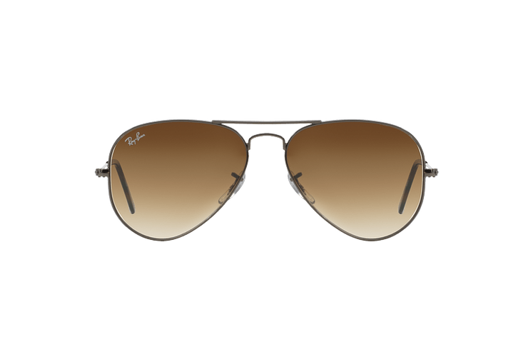 Ray Ban Aviador Gunmetal lente Crystal Brown Gradient cod. RB3025 004/51 62 - Image 12
