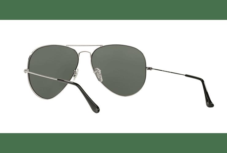 Ray Ban Aviador Silver lente Crystal Grey Mirror cod. RB3025 003/40 62 - Image 5