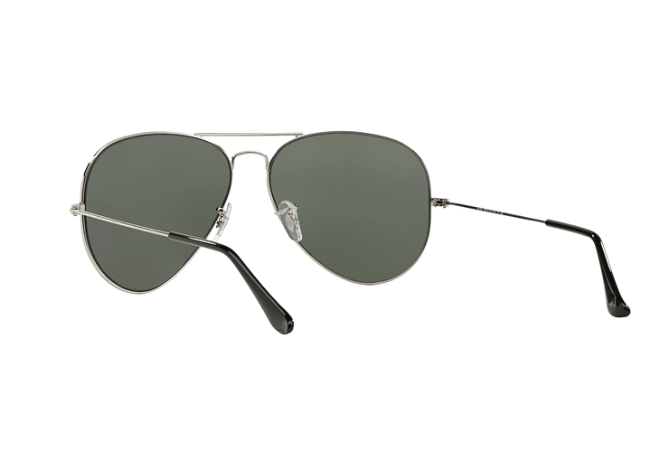 Ray Ban Aviador Silver lente Crystal Grey Mirror cod. RB3025 003/40 62 - Image 5
