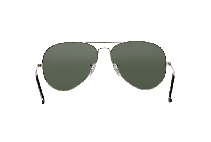 Ray Ban Aviador Silver lente Crystal Grey Mirror cod. RB3025 003/40 62 - Image 6