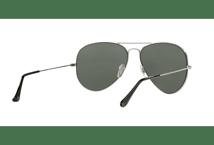 Ray Ban Aviador Silver lente Crystal Grey Mirror cod. RB3025 003/40 62 - Image 7