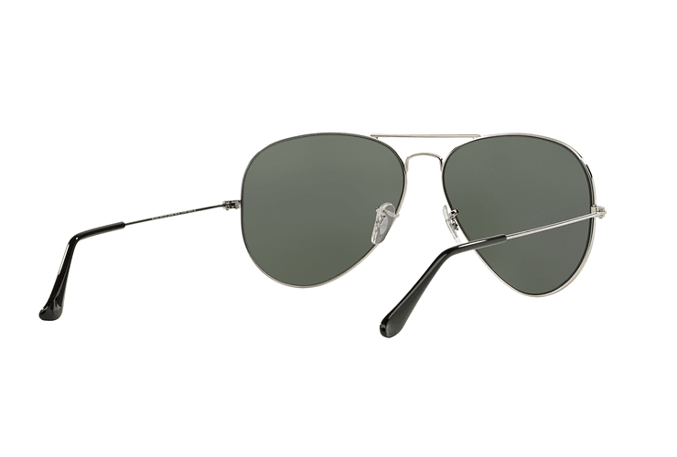 Ray Ban Aviador Silver lente Crystal Grey Mirror cod. RB3025 003/40 62 - Image 7