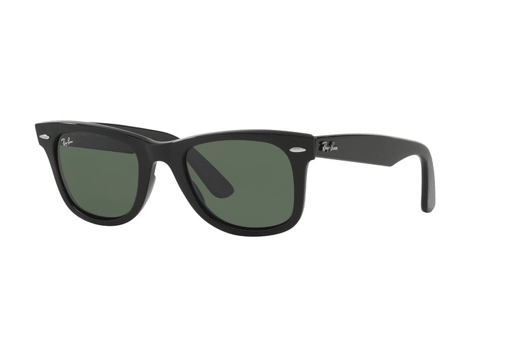 Ray Ban Wayfarer Black lente Crystal Green cod. RB2140 901 50 - Image 1