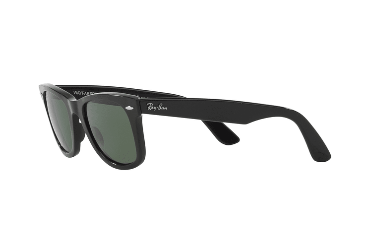 Ray Ban Wayfarer Black lente Crystal Green cod. RB2140 901 50 - Image 2