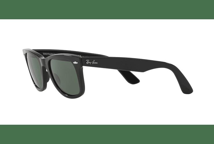 Ray Ban Wayfarer Black lente Crystal Green cod. RB2140 901 50 - Image 2