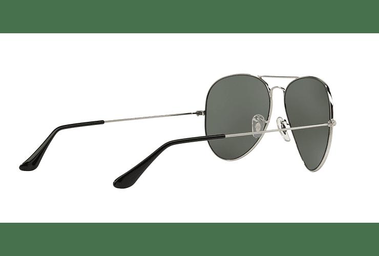 Ray Ban Aviador Silver lente Crystal Grey Mirror cod. RB3025 003/40 62 - Image 8