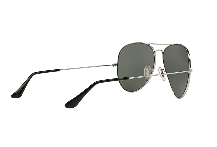 Ray Ban Aviador Silver lente Crystal Grey Mirror cod. RB3025 003/40 62 - Image 8