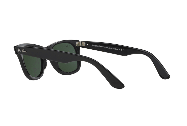 Ray Ban Wayfarer Black lente Crystal Green cod. RB2140 901 50 - Image 4