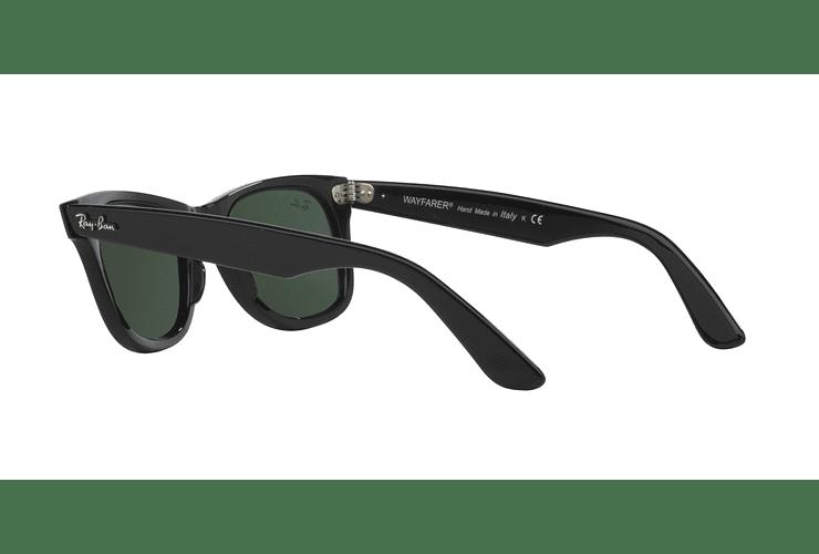 Ray Ban Wayfarer Black lente Crystal Green cod. RB2140 901 50 - Image 4