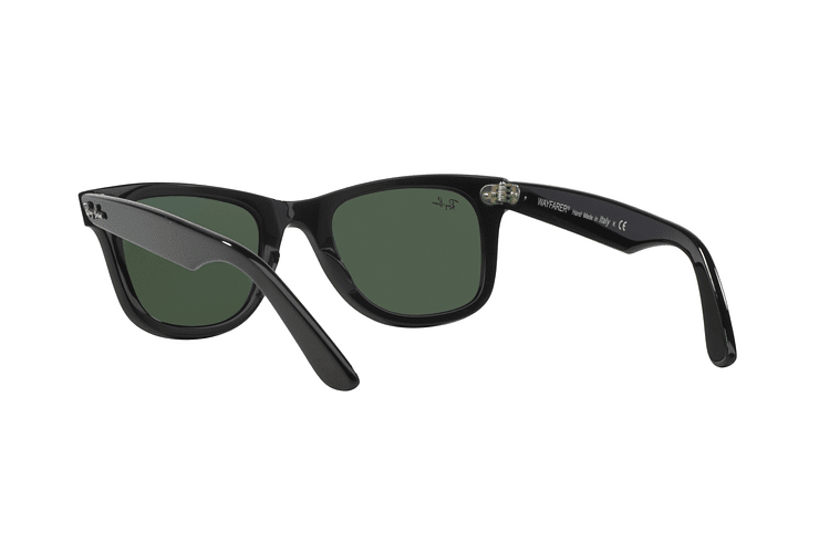 Ray Ban Wayfarer Black lente Crystal Green cod. RB2140 901 50 - Image 5