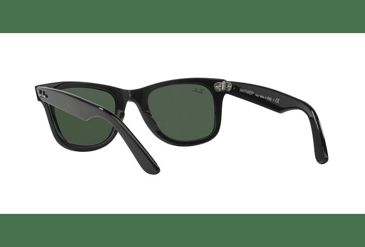 Ray Ban Wayfarer Black lente Crystal Green cod. RB2140 901 50 - Image 5