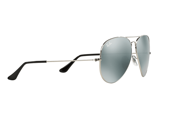 Ray Ban Aviador Silver lente Crystal Grey Mirror cod. RB3025 003/40 62 - Image 10