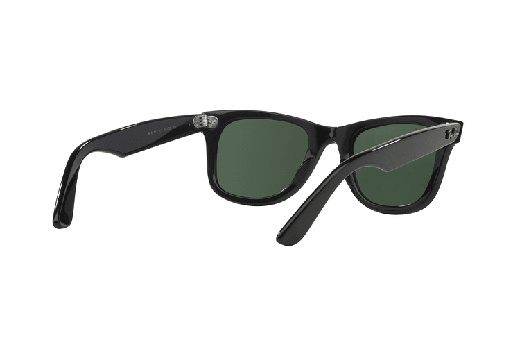 Ray Ban Wayfarer Black lente Crystal Green cod. RB2140 901 50 - Image 7