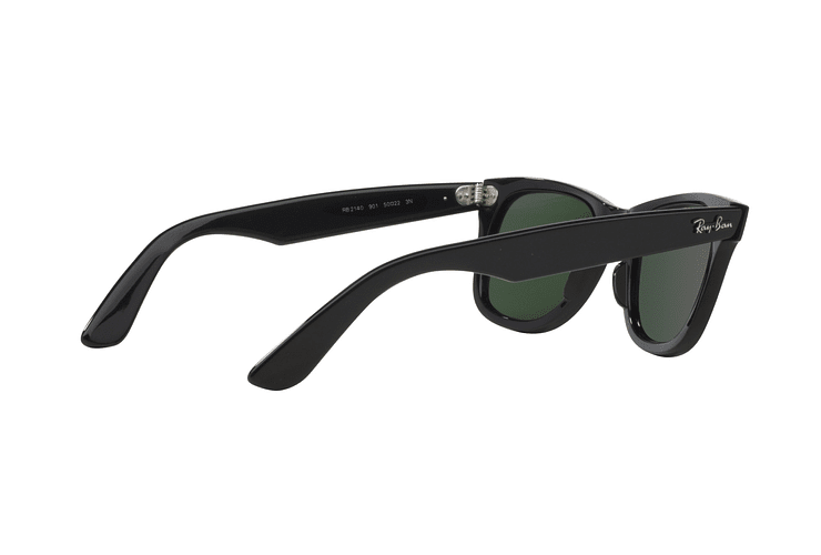 Ray Ban Wayfarer Black lente Crystal Green cod. RB2140 901 50 - Image 8