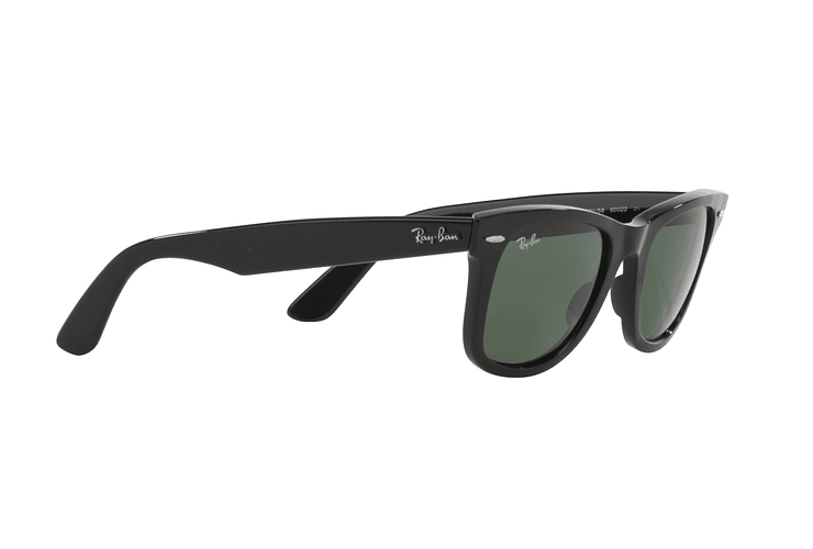 Ray Ban Wayfarer Black lente Crystal Green cod. RB2140 901 50 - Image 10