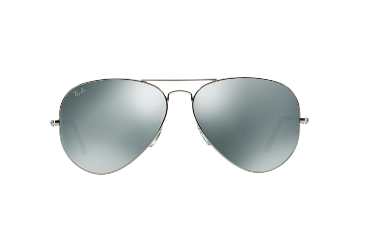 Ray Ban Aviador Silver lente Crystal Grey Mirror cod. RB3025 003/40 62 - Image 12