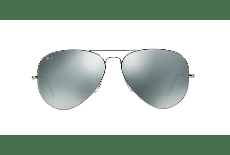 Ray Ban Aviador Silver lente Crystal Grey Mirror cod. RB3025 003/40 62 - Image 12