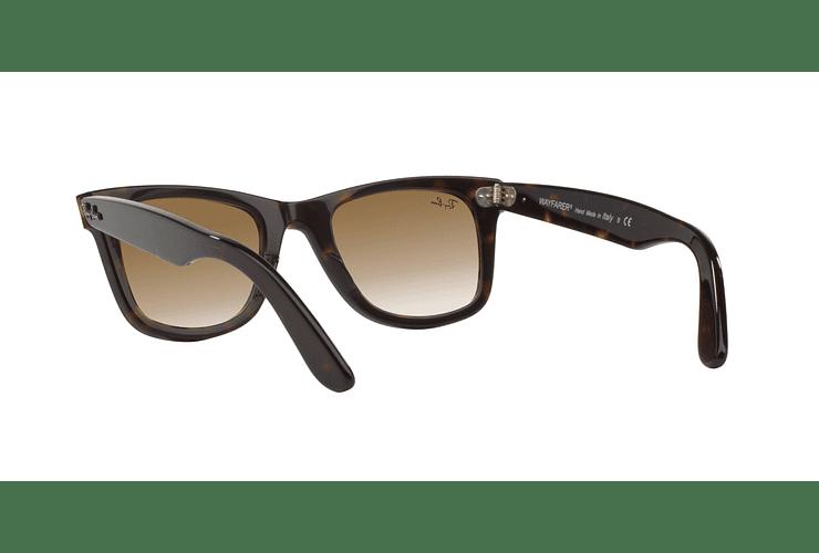 Ray Ban Wayfarer Tortoise lente Crystal Brown Gradient cod. RB2140 902/51 50 - Image 5