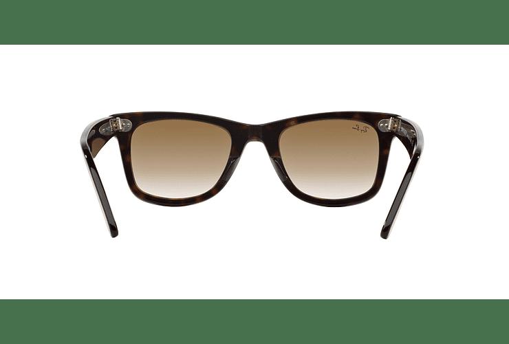 Ray Ban Wayfarer Tortoise lente Crystal Brown Gradient cod. RB2140 902/51 50 - Image 6