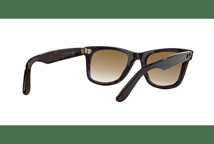 Ray Ban Wayfarer Tortoise lente Crystal Brown Gradient cod. RB2140 902/51 50 - Image 7
