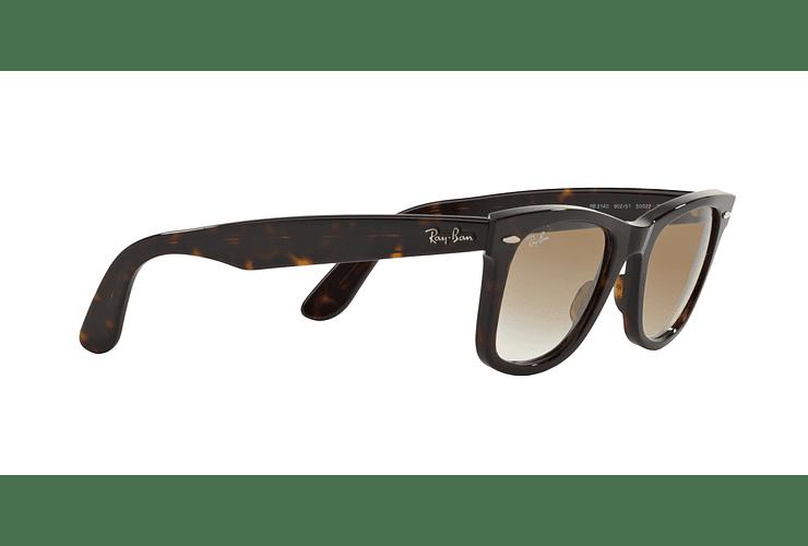 Ray Ban Wayfarer Tortoise lente Crystal Brown Gradient cod. RB2140 902/51 50 Desc25% - Image 10