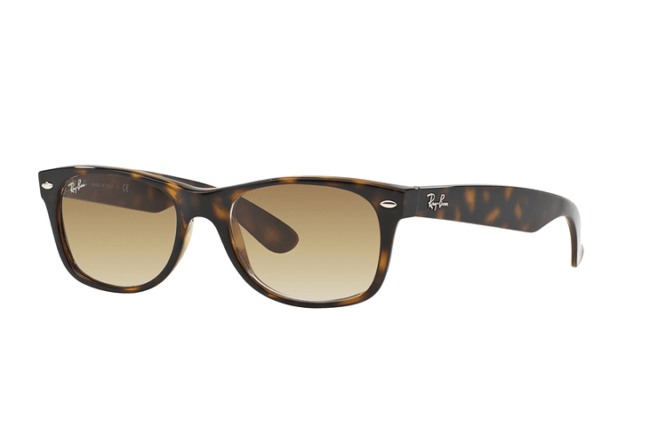 Ray Ban New Wayfarer Light Havana lente Crystal Brown Gradient cod. RB2132 710/51 55 - Image 1