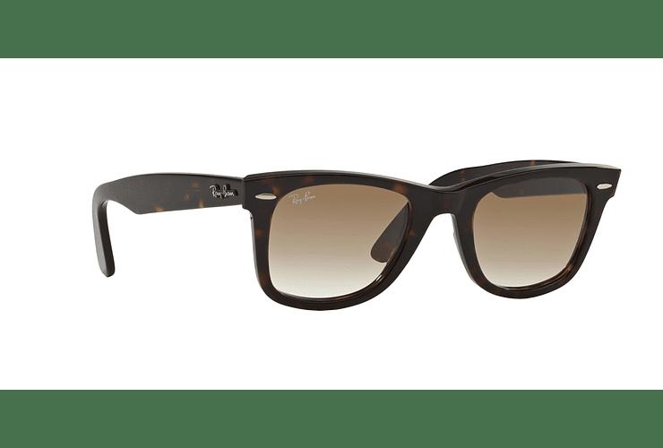 Ray Ban Wayfarer Tortoise lente Crystal Brown Gradient cod. RB2140 902/51 50 - Image 11
